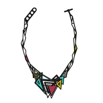 Kheops Necklace Multicolor  Flashy