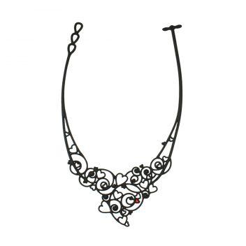 Passion Necklace Black