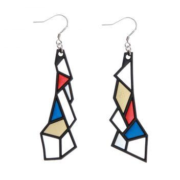 Prism-Earrings-Blue-Red